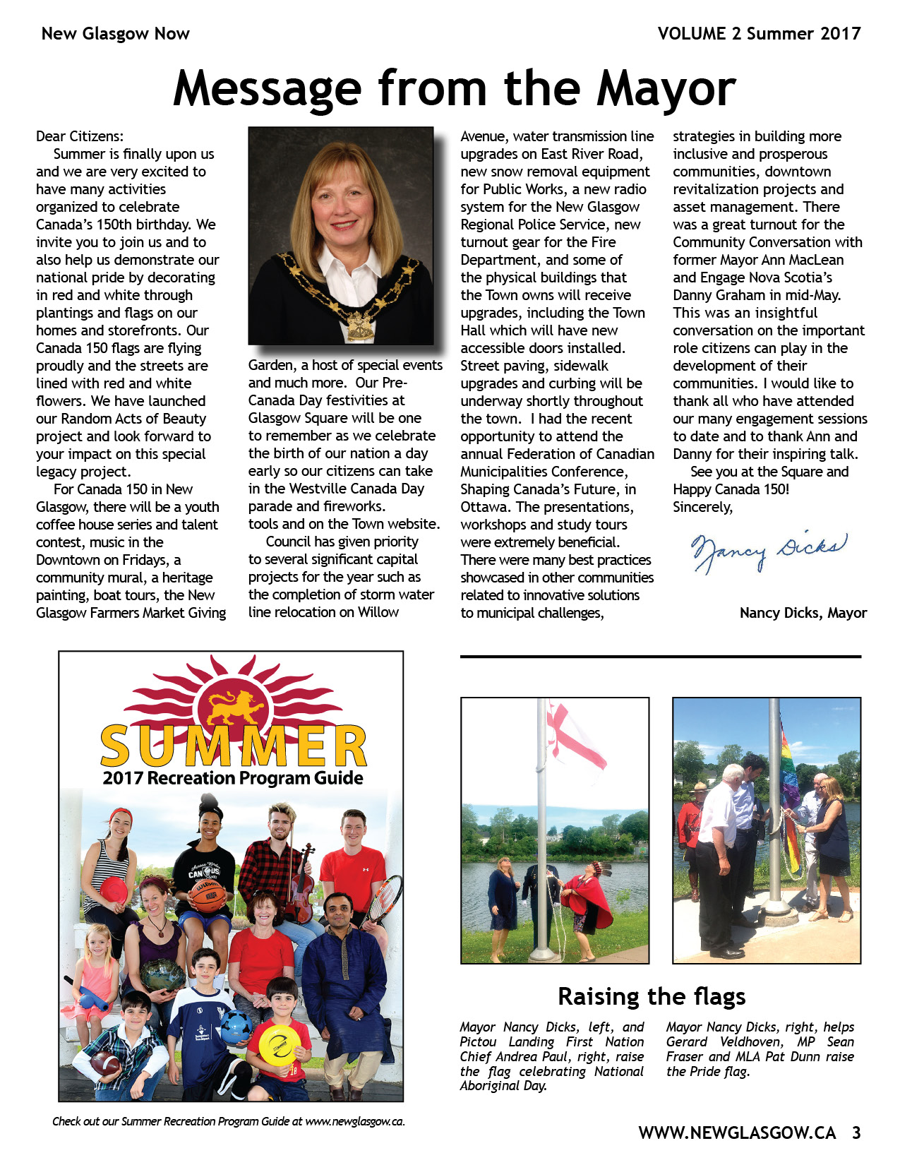 PAGE 3 Newsletter2 Summer 2017 4